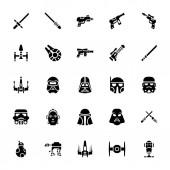 Star wars glyph icons