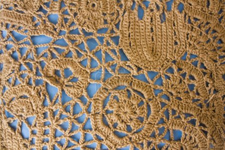 rochet lace background close up