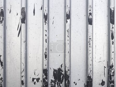 profiled metal sheet background dirt blotch splash