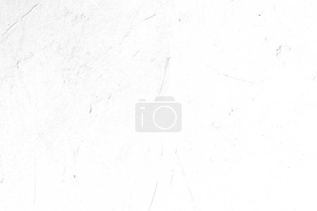 Photo for Abstract design white textured background. distressed scratched weathered backdrop. light plaster stucco decor. copy space concept - Royalty Free Image