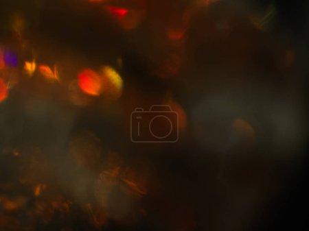 abstract lens flare bokeh festive glow blur design