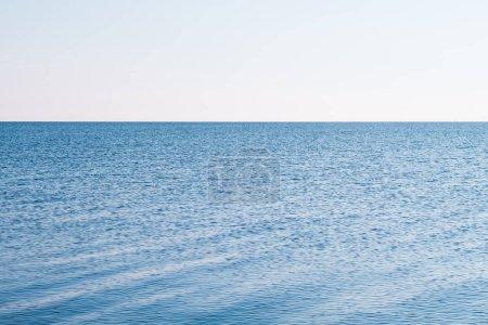 Photo pour Tourisme de voyage loisirs. voyage escapade océanique. voyage aventure. paysage bleu ciel et eau - image libre de droit