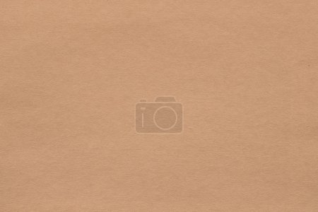 Photo for Light brown paper texture background. colored cardboard fibers and grain. empty space concept. - Royalty Free Image