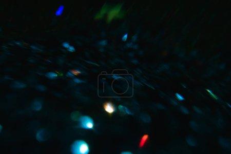 Photo pour Objectif abstrait fond de flare. brillant cadre festif flou. - image libre de droit