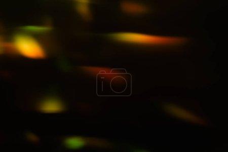Foto de Destello de lente abstracta sobre fondo. desenfocada luces bokeh. brillante fiesta círculos diseño. - Imagen libre de derechos