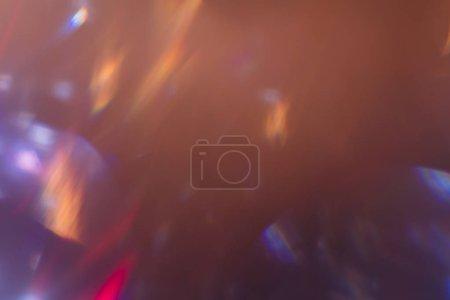 Foto de Efecto de luz de la llamarada de lente. Sparkle flash ray sobre fondo. efecto óptico del proyector. - Imagen libre de derechos