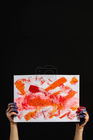 arts class school lifestyle artist painting hands