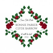 Vector Roses Wedding Invitation Card for Design 01