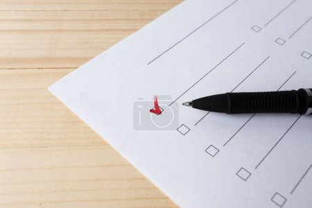 writing to do list, close up