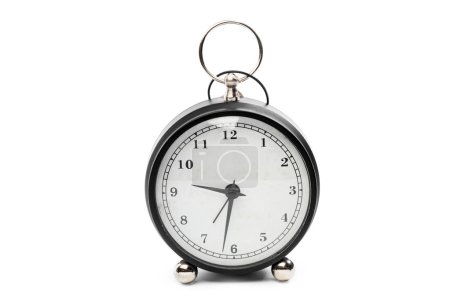 Photo for Close view of alarm clock on table - Royalty Free Image