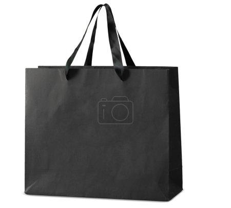 Photo pour Sac à provisions sur fond blanc - image libre de droit