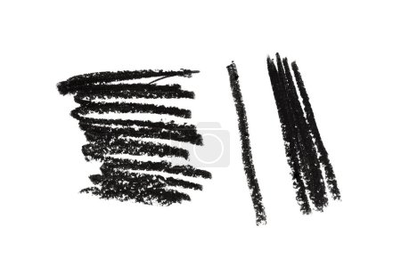 pencil drawing illustration, art make up beauty cosmetics