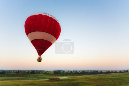 air balloon outdoor on background