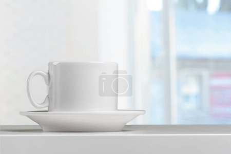 Photo for Coffee Cup on a table - Royalty Free Image