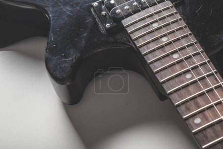 Photo for Close-up view of electric guitar parts - Royalty Free Image