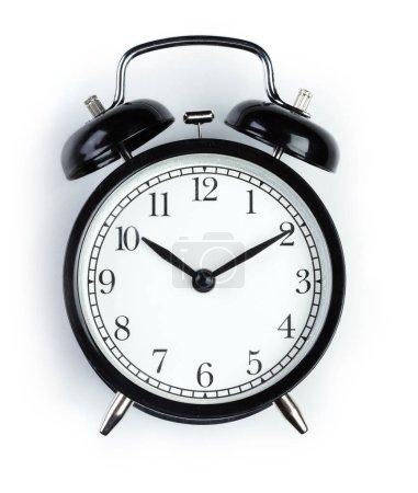 Photo for Alarm clock isolated on white background - Royalty Free Image