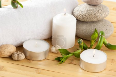 spa concept, aromatherapy, background for beauty procedures