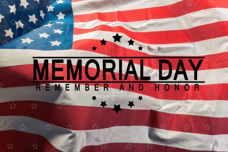 Memorial Day, holiday on background