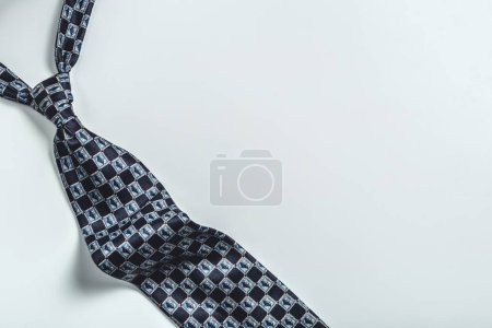 tie over white background