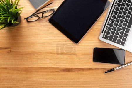 modern computer gadgets, close-up view