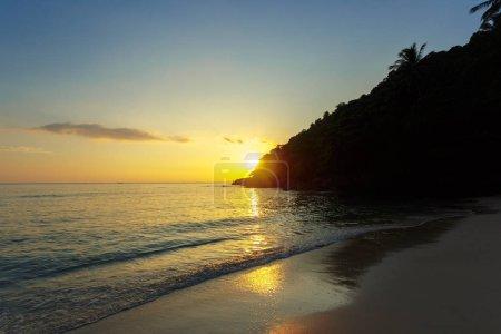 Foto de Mar. Paraíso tropical. Concepto de viaje - Imagen libre de derechos