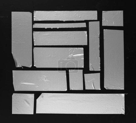 Masking Duct Tape on black background