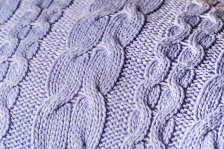 close up of knit wear as background