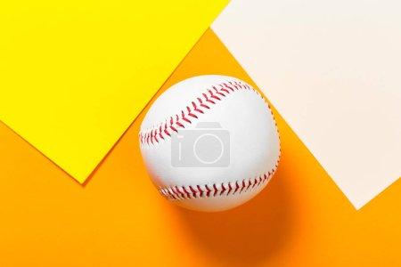 New Baseball ball, sport background