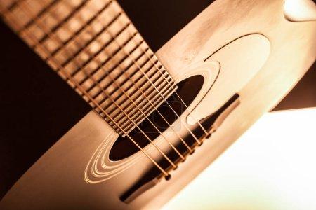 Foto de Detalle de la guitarra clásica - Imagen libre de derechos