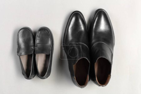 Photo for Leather men's shoes - Royalty Free Image