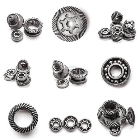 few automotive parts collage