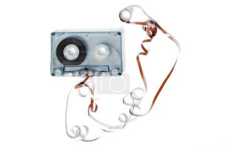 Photo pour Bande sonore de musique, vue de près - image libre de droit
