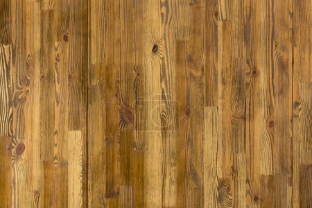 Photo for Rustic weathered brown wood background - Royalty Free Image