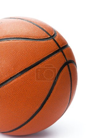 Photo for Basketball ball over white background. - Royalty Free Image