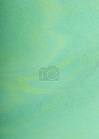 Foto de Acuarelas fluyen amorfo, pintura abstracta verde, amarillo - Imagen libre de derechos