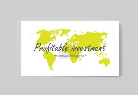 Business presentation brochure infographics advert...