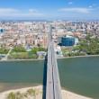 Bridge over the River Don. Rostov-on-Don. Russia...