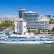 Riverport on the waterfront. Rostov-on-Don. Russia...