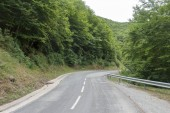 Road between Olot and Ripoll in the Catalan Pyrenees