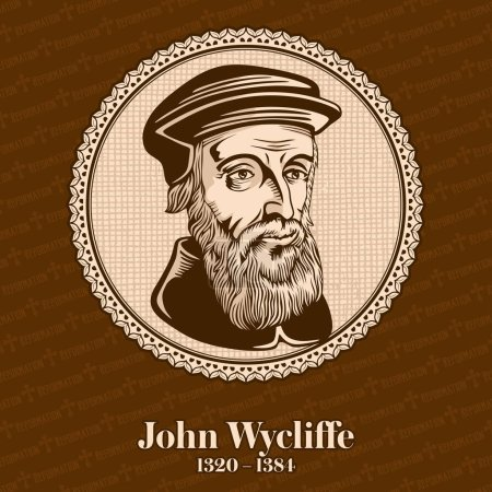 John Wycliffe (1320 - 1384) was an English scholastic philosopher, theologian, Biblical translator, reformer, English priest, and a seminary professor at the University of Oxford. Christian figure.