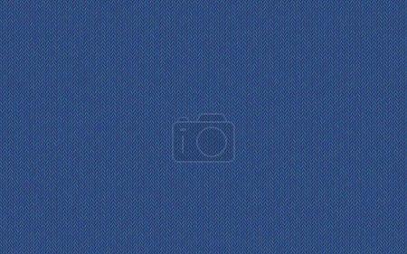 Fils de laine mélangée. Texture tricotée, nuance de bleu crépuscule. Couleur sereine facile de Nébuleuses Bleu. Fond sans couture vectoriel. Couleur moderne et à la mode. Endroit parfait pour le texte. Tissu de laine .