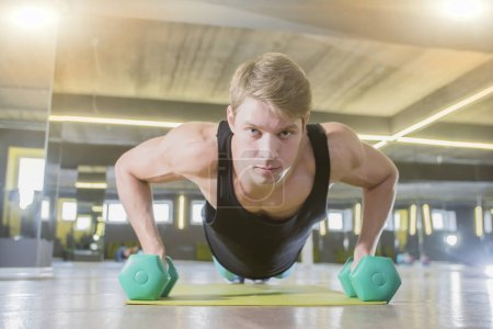 Photo for Young man at the gym - Royalty Free Image