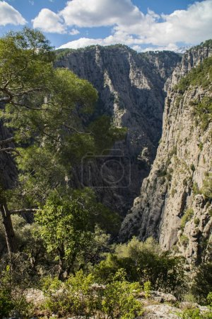 Photo for Amazing nature scenic view with mountains - Royalty Free Image