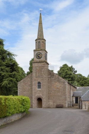 Medieval parish church of Glamis, dedicated to Saint Fergus