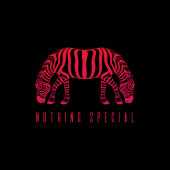 Nothing special Vector hand drawn illustration of zebra with two heads