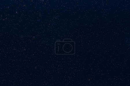 Photo for Stars on dark blue starry night sky background - Royalty Free Image