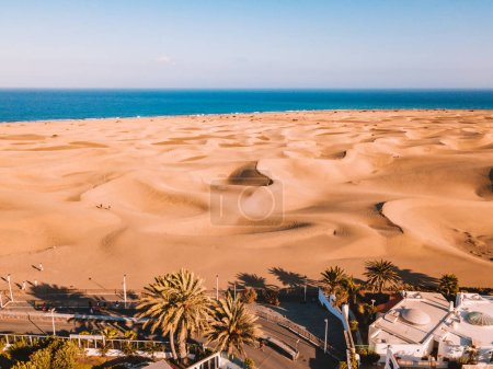 Aerial view of the Maspalomas