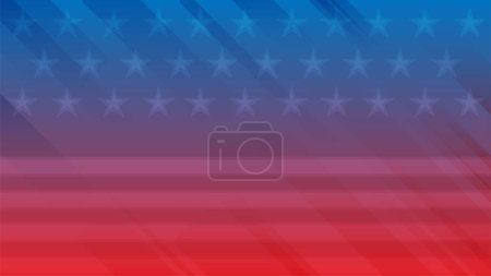 Photo for Independence Day of USA vector background. - Royalty Free Image