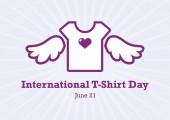 International T-Shirt Day vector