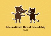 International Day of Friendship vector